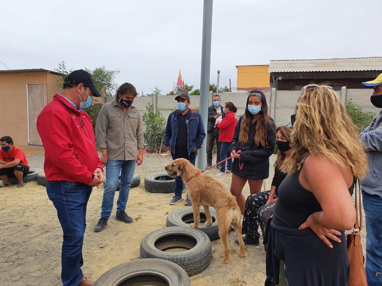 Gobierno en terreno llega a la Caleta Chañaral de Aceituno