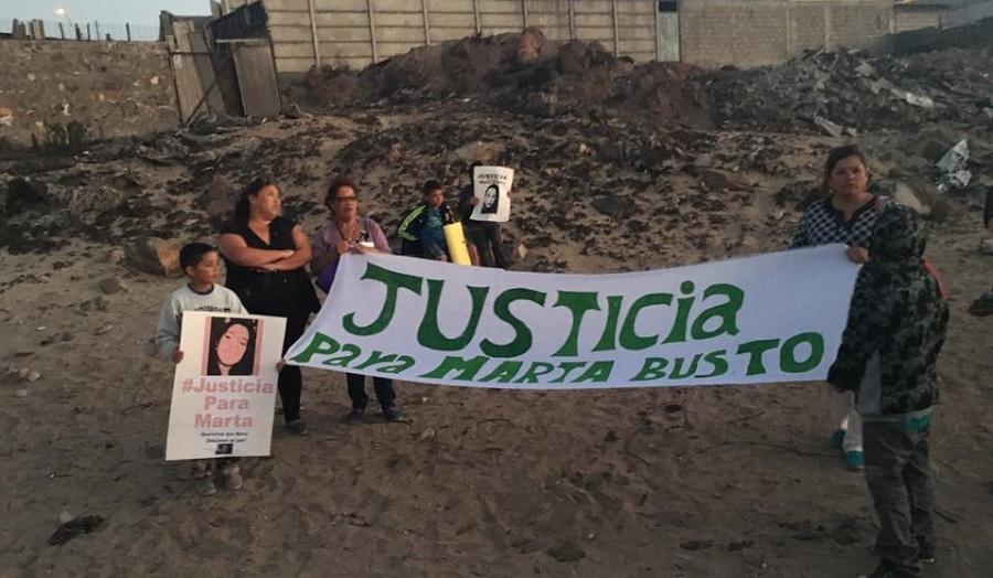 Aún no llegan pericias analizadas por FBI en caso Marta Bustos