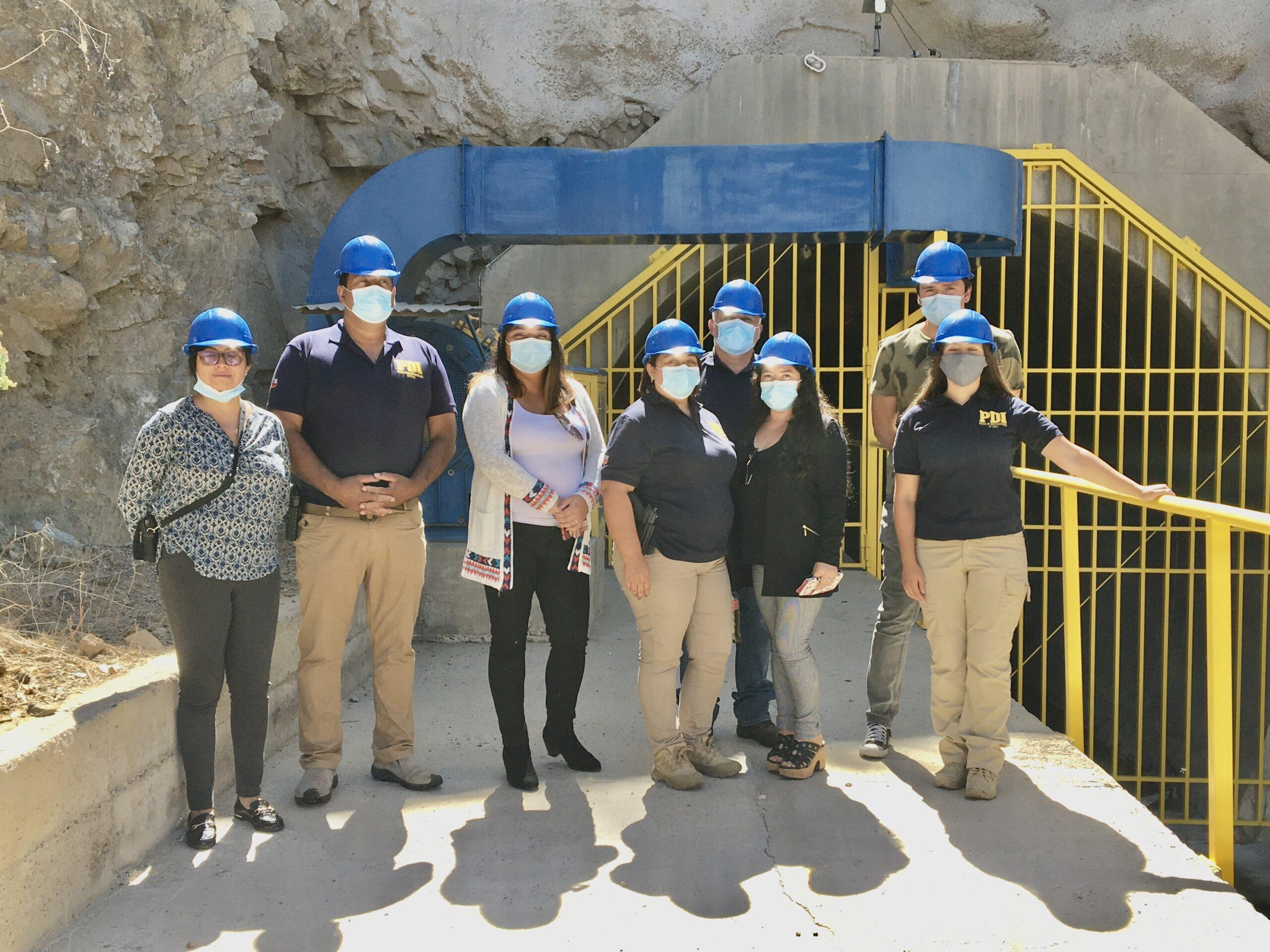 Funcionarios de la PDI Vallenar recorrieron dependencia del Embalse Santa Juana