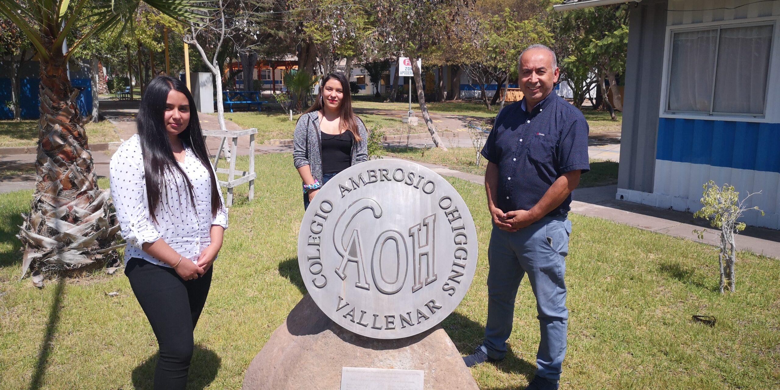 COLEGIO AMBROSIO O'HIGGINS DE VALLENAR DESTACA DENTRO DE LOS 100 MEJORES DE CHILE EN PRUEBA DE ADMISIÓN TRANSITORIA