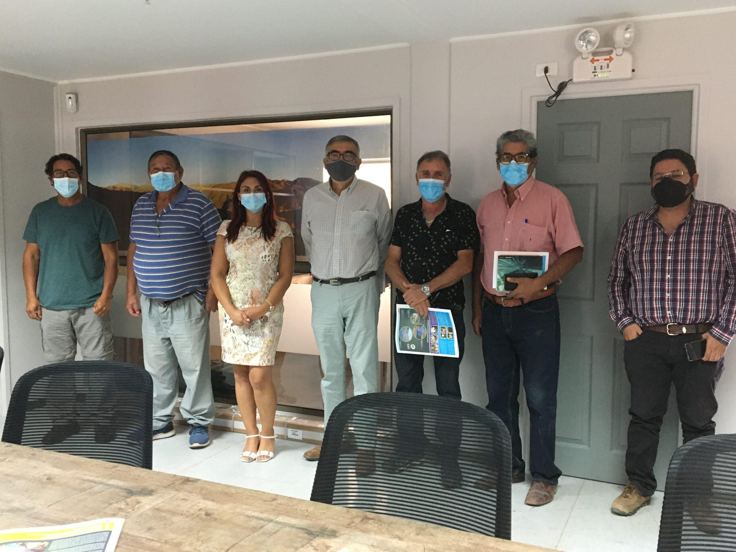 Junta de Vigilancia del Río Huasco se reúne con representantes del Tercer Tramo