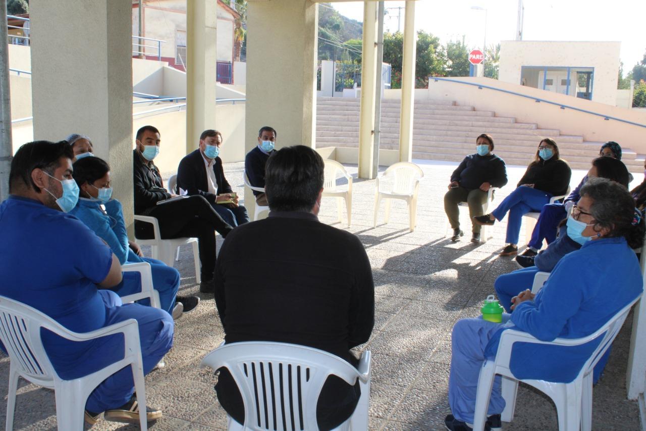 Mediante diálogos conocen inquietudes de trabajadores de salud de Freirina