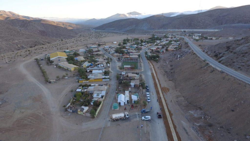 Más de 200 personas se benefician gracias a los trabajos de Conservación del Sistema de APR en Cachiyuyo ejecutados por el gobierno