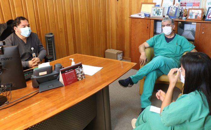 HPH incorpora fonoaudióloga para el cuidado y tratamiento de pacientes COVID-19 en Unidad de Paciente Crítico