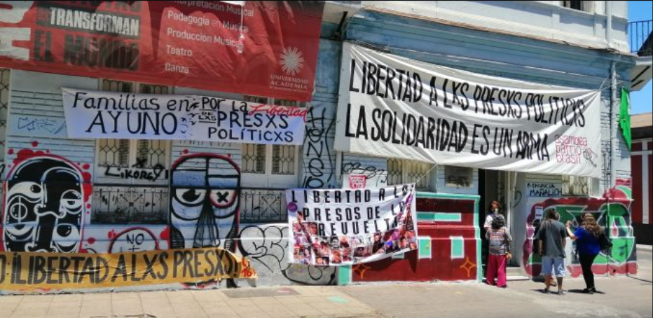 Constituyentes exigen liberación de presas y presos políticos