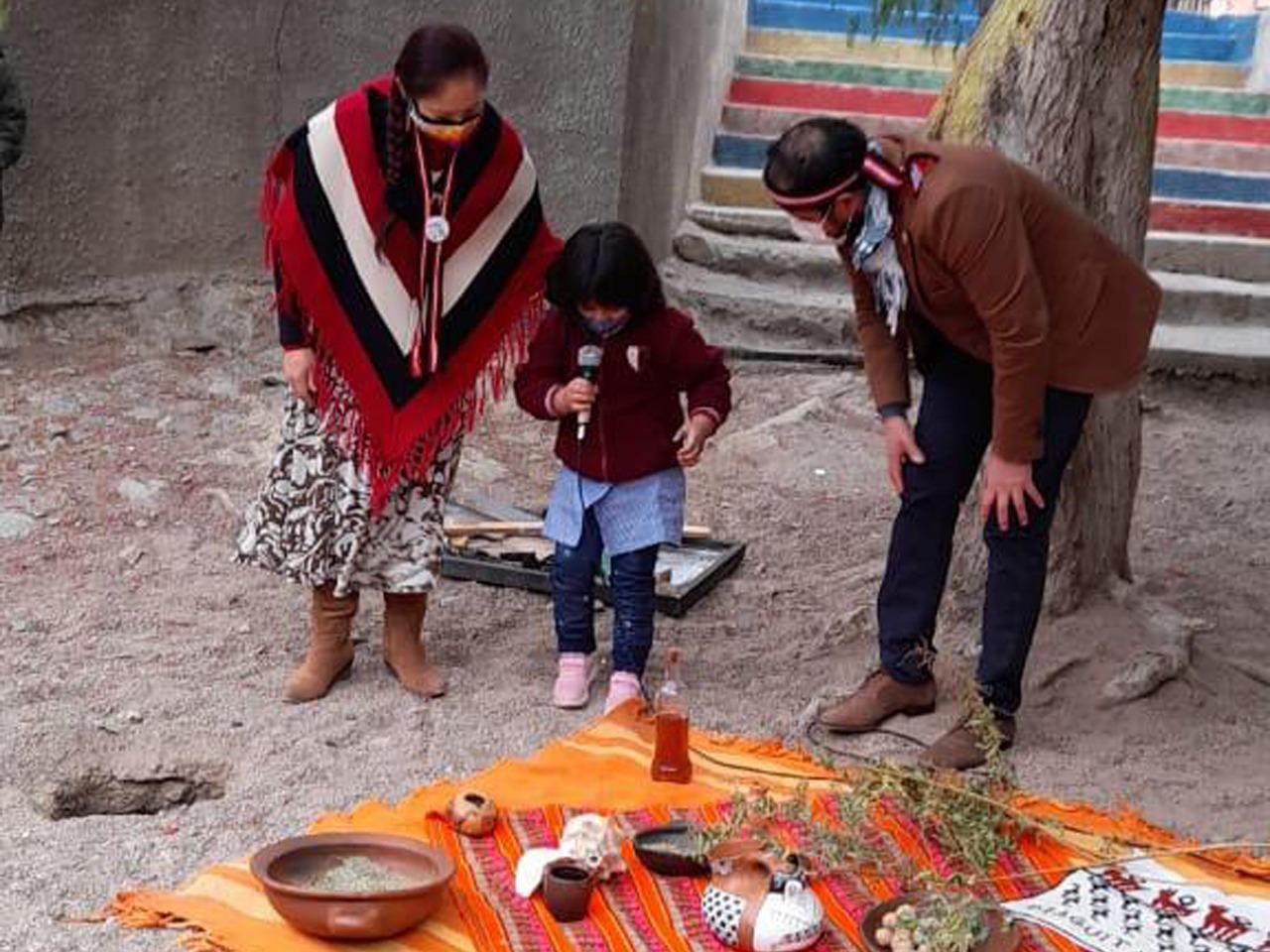 Establecimientos de la provincia conmemoran el Día de los Pueblos Indígenas con diferentes actividades recreativas