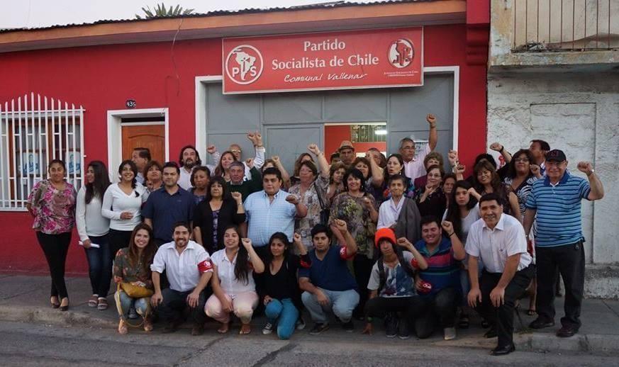 Comunal del PS de Vallenar oficializó su apoyo a Carlo Pezo