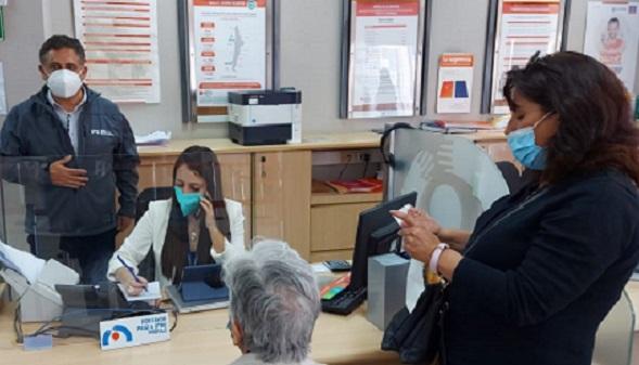 ChileAtiende Atacama realiza despliegue para apoyar ingreso de solicitudes al IFE Universal