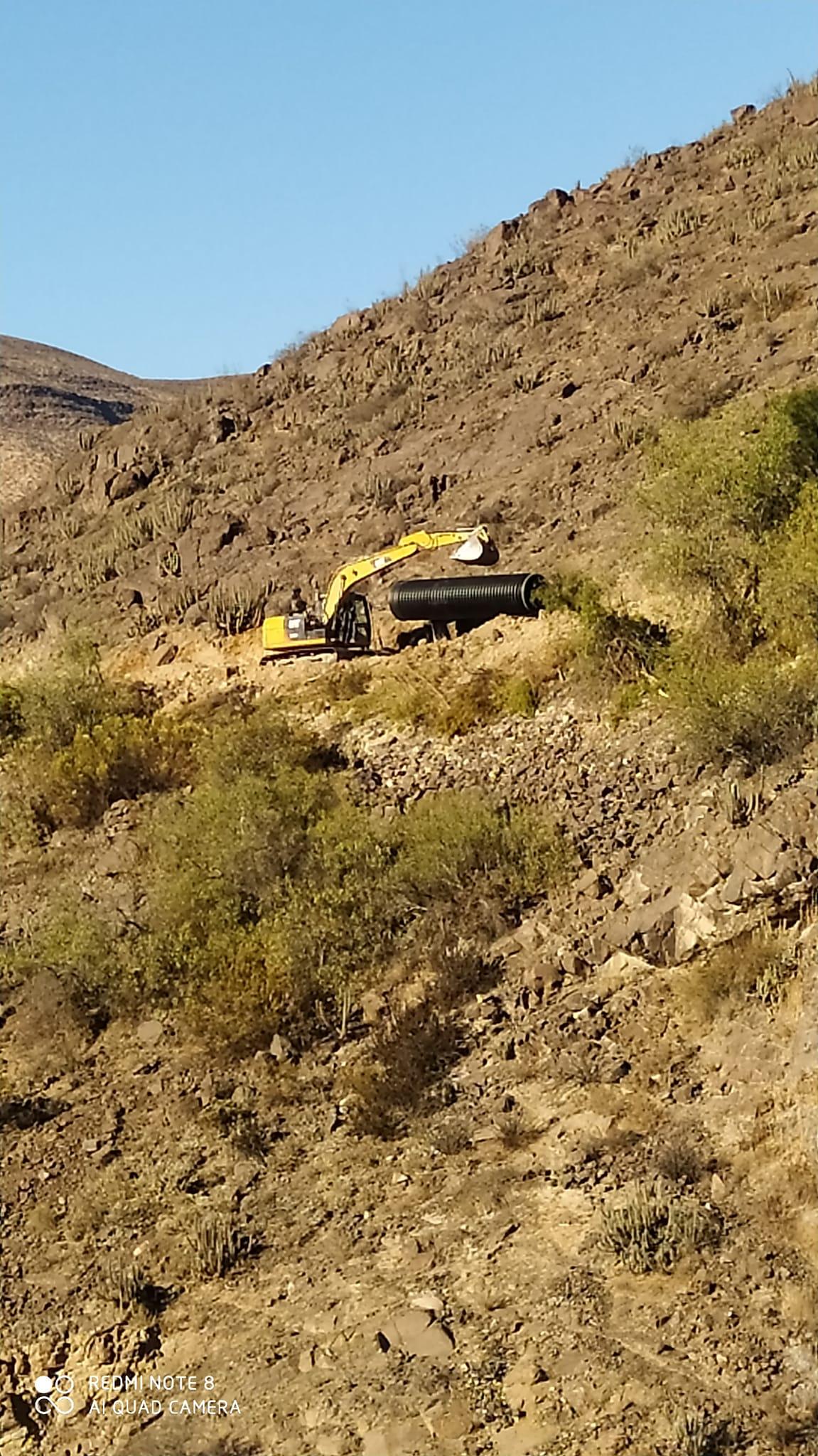 Preocupación ante posibles daños por entubamiento de canal en sector La Verbena