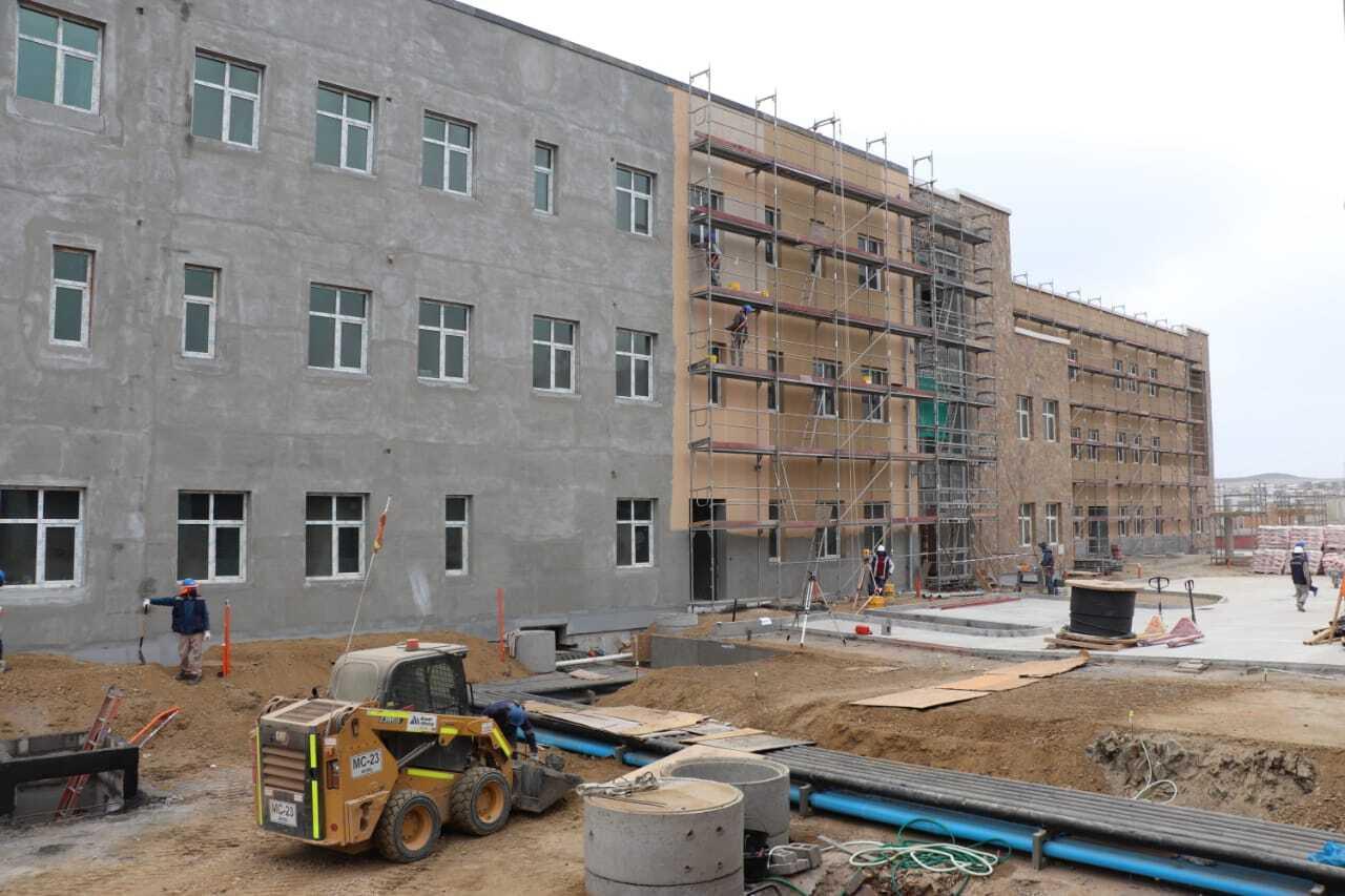 Hospital de Huasco ya registra un 75% de avance en su construcción