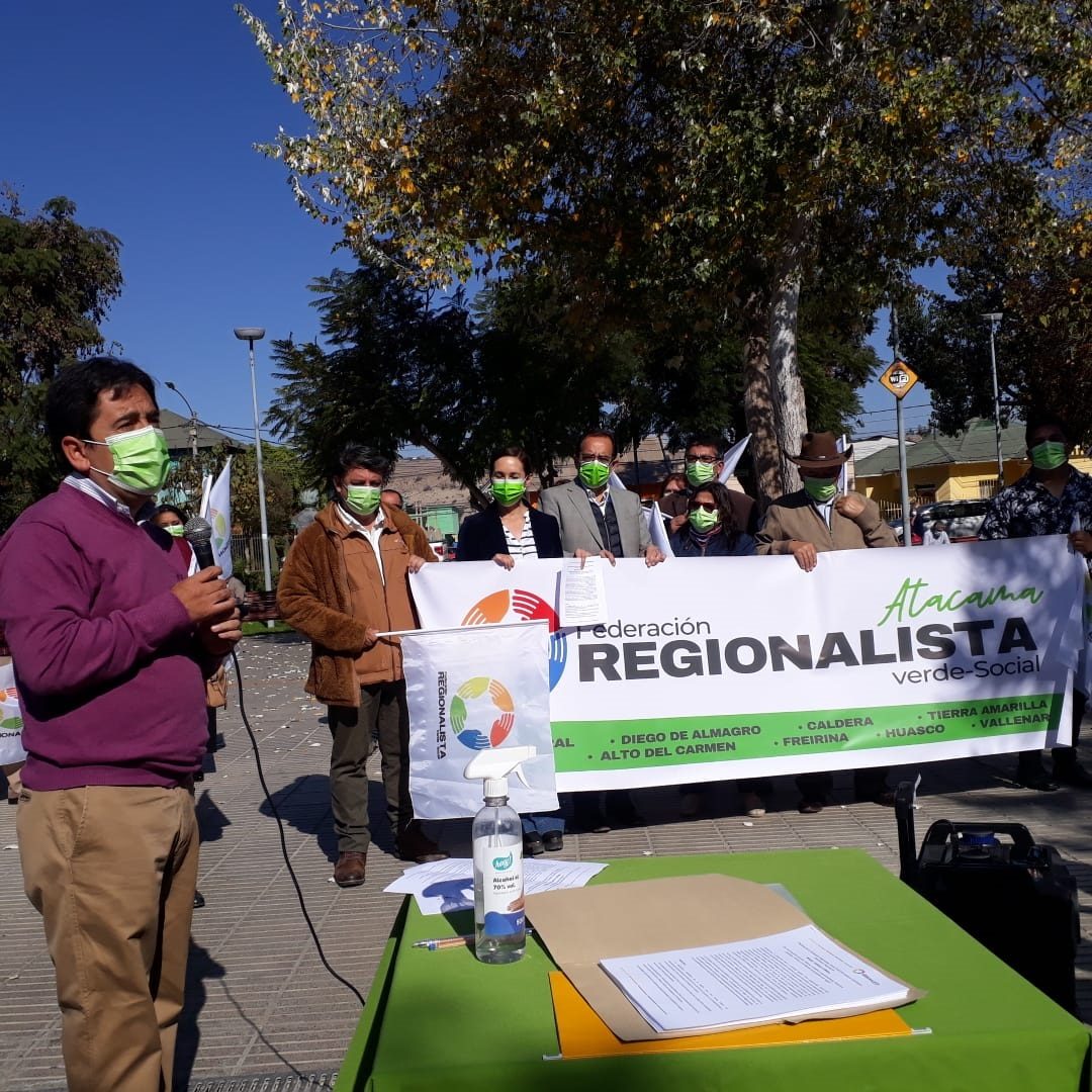 Regionalistas de Atacama entregan su apoyo a candidato a Gobernador Regional Miguel Vargas