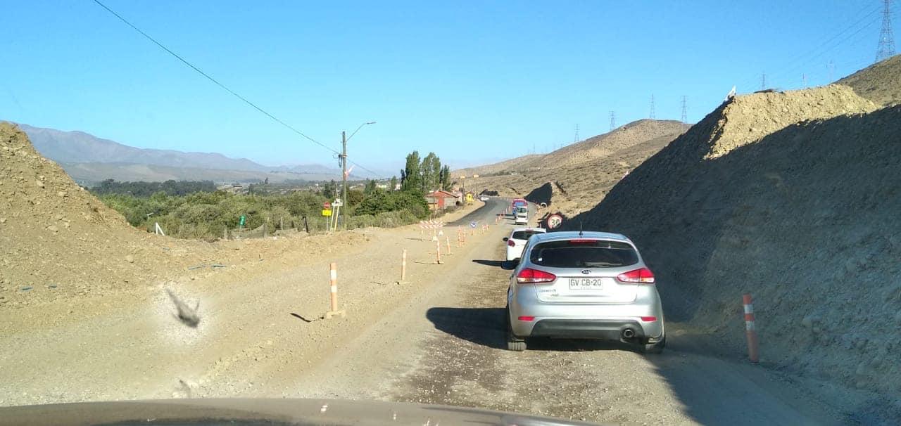 20% de avance alcanzan los trabajos de Mejoramiento de la Ruta C-46 en la Provincia de Huasco