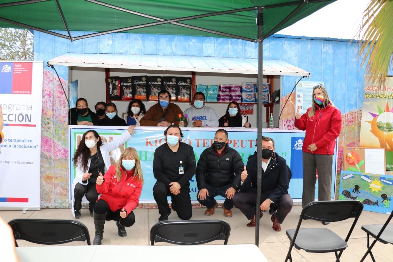 HPH inaugura primer quiosco terapéutico en la provincia del Huasco