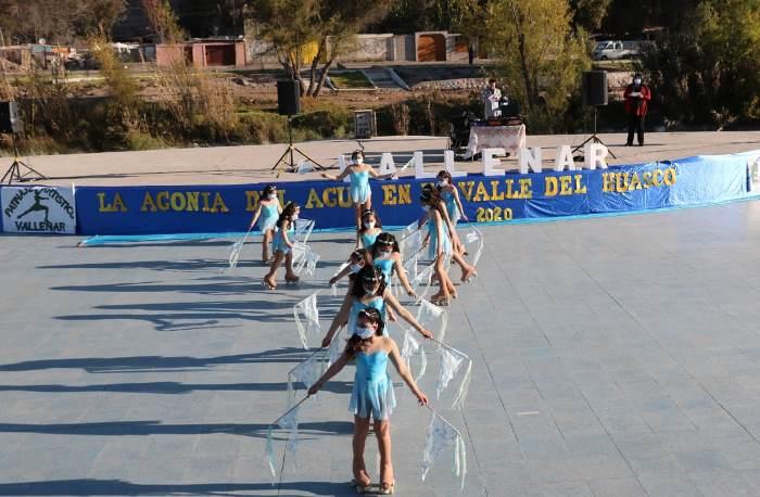 El patinaje artístico logra después de mucho tiempo mostrar su trabajo en público en Vallenar.