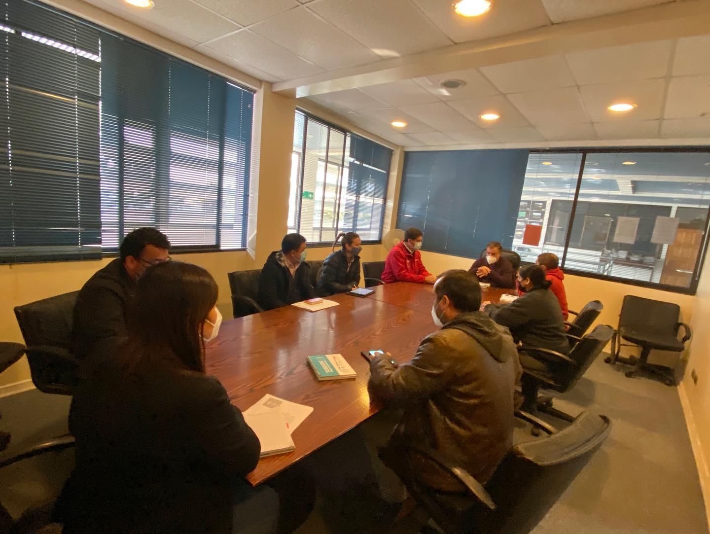 MINVU se reúne con alcalde de Huasco y concejales