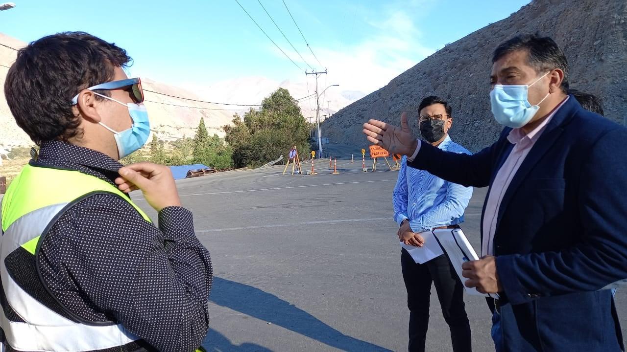 Avanzan trabajos que realizan entre La Fragua y La Arena en Alto del Carmen