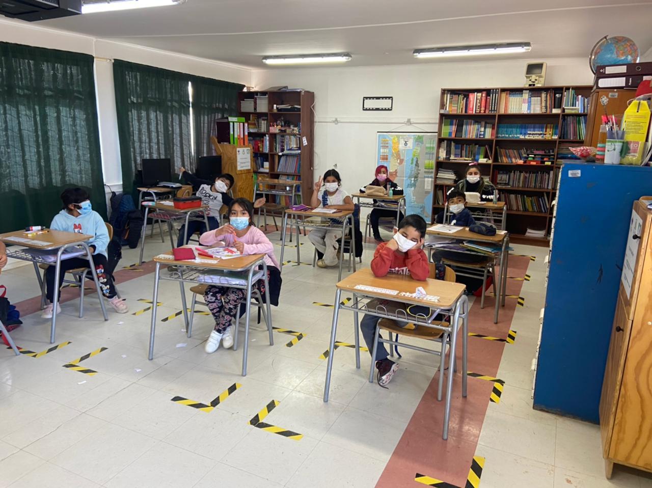 Segundo Semestre Escolar: establecimientos educacionales del Servicio Local Huasco continúan con clases presenciales y remotas