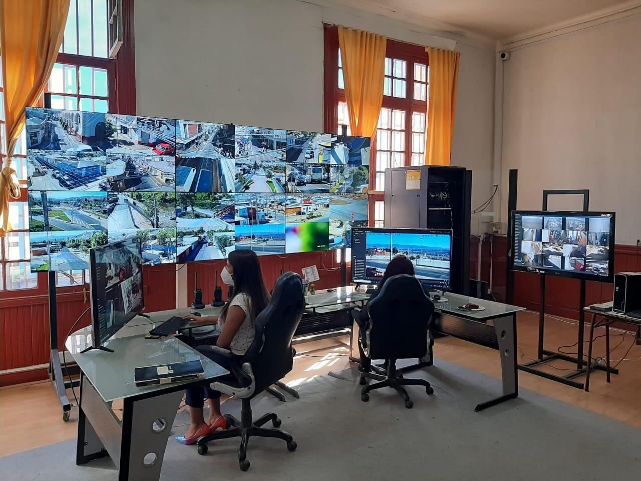 Instalarán nuevas cámaras de seguridad en Vallenar