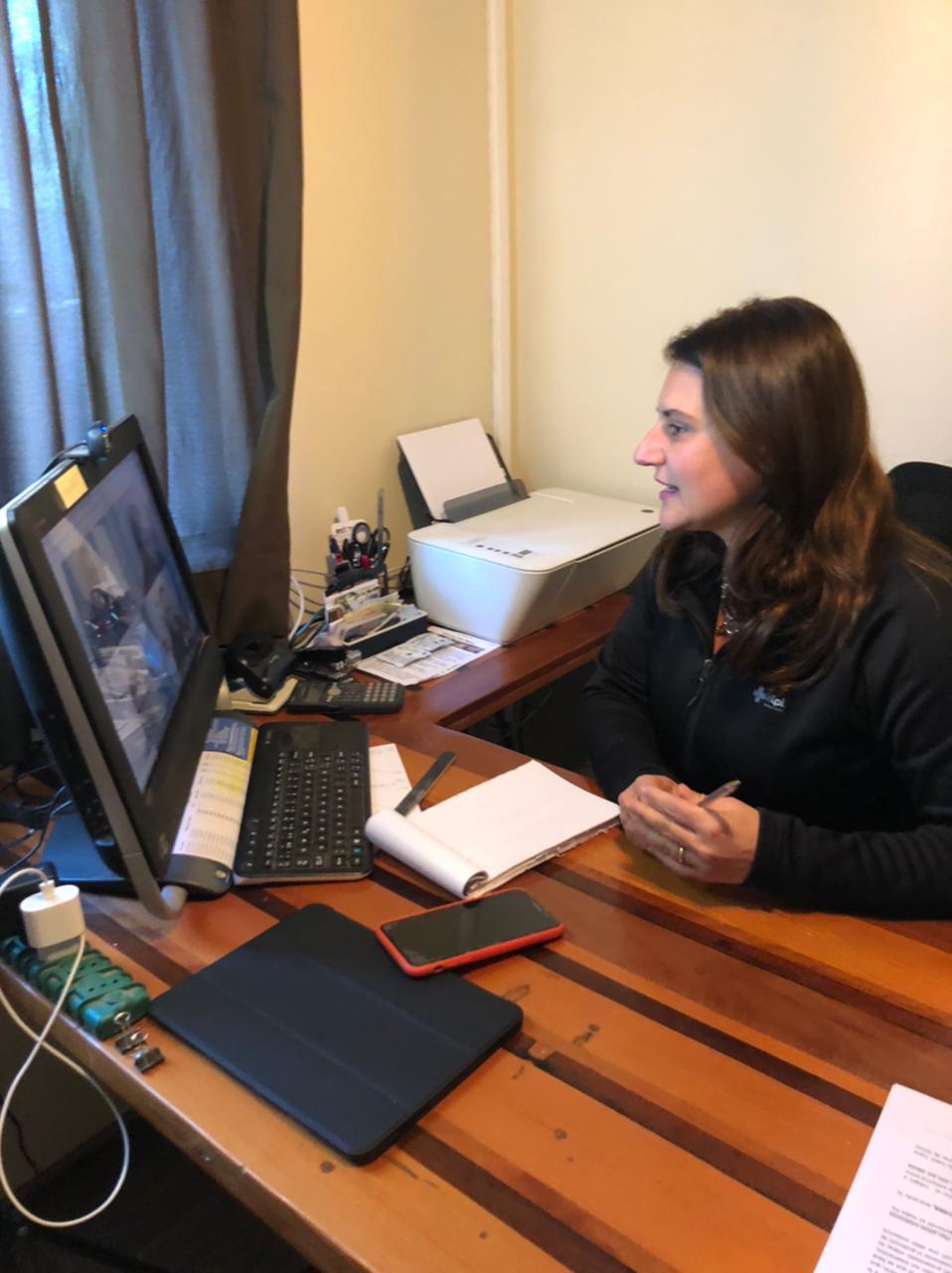 Diputada Cid se reunió con director nacional de la Onemi para analizar proyecto de alarmas en el Borde Costero de Atacama