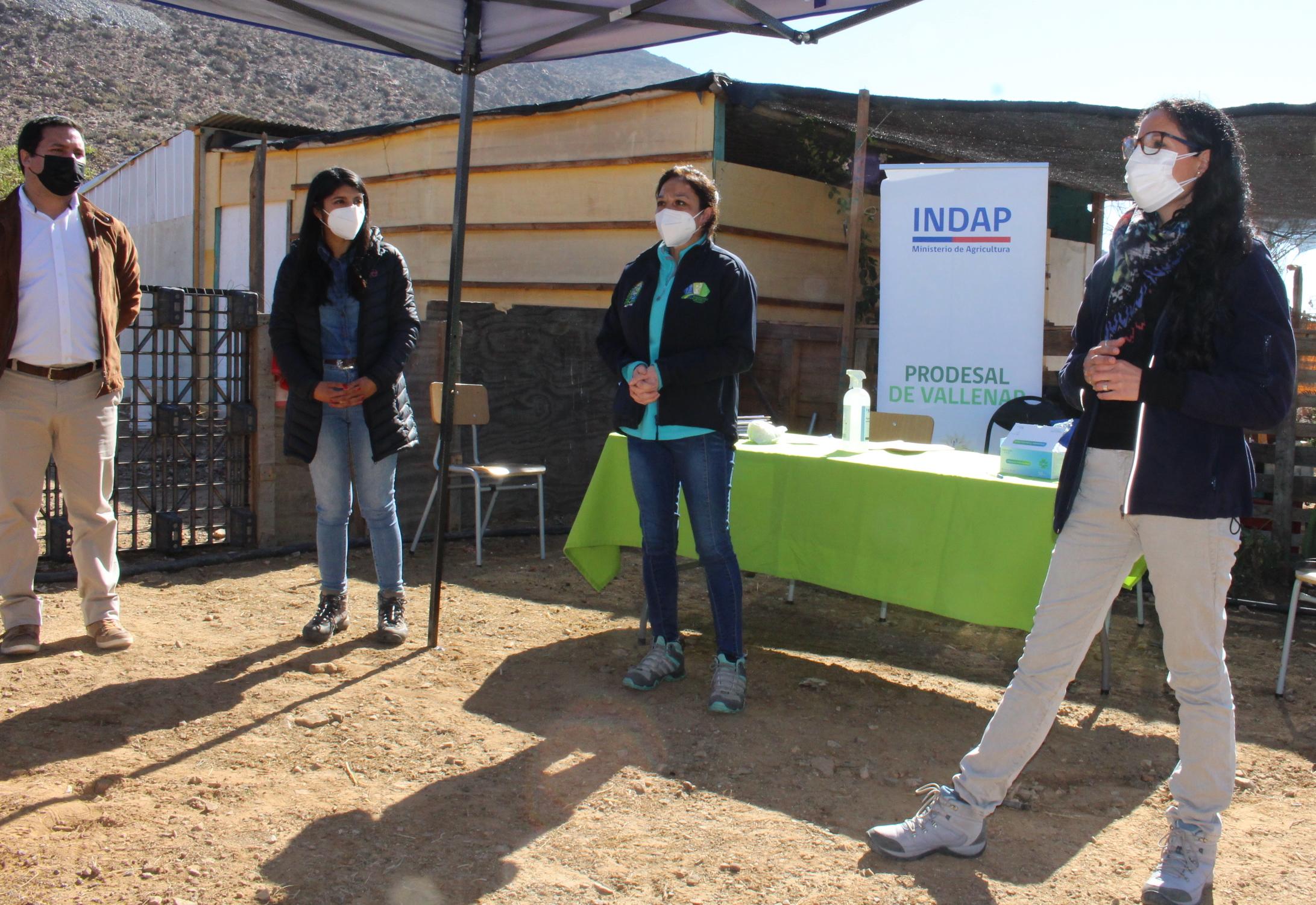 Crianceros de Vallenar mejorarán corrales con apoyo de INDAP