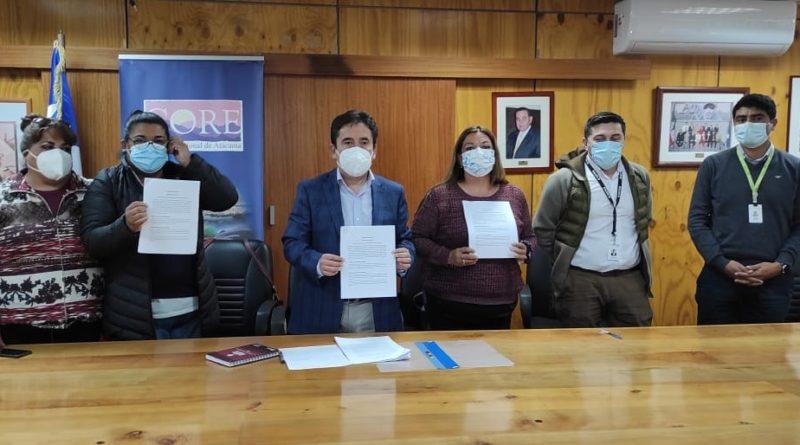 Trabajadores de Supermercado Tottus dan por terminada huelga tras llegar a un acuerdo gracias mediación de Gobernador Miguel Vargas