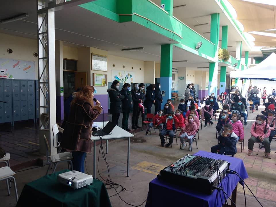 Escuela Gabriela Mistral de Vallenar junto a la Agrupación Intillapu lanzan proyecto FNDR de divulgación medioambiental