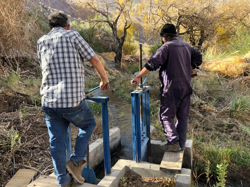 Canales Islones Norte y Berraco fueron beneficiados con obra directa de la Junta de Vigilancia del Río Huasco