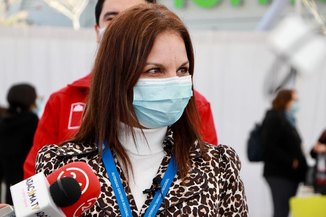 Cursan sanitario a municipios del Huasco por proceso de vacunación