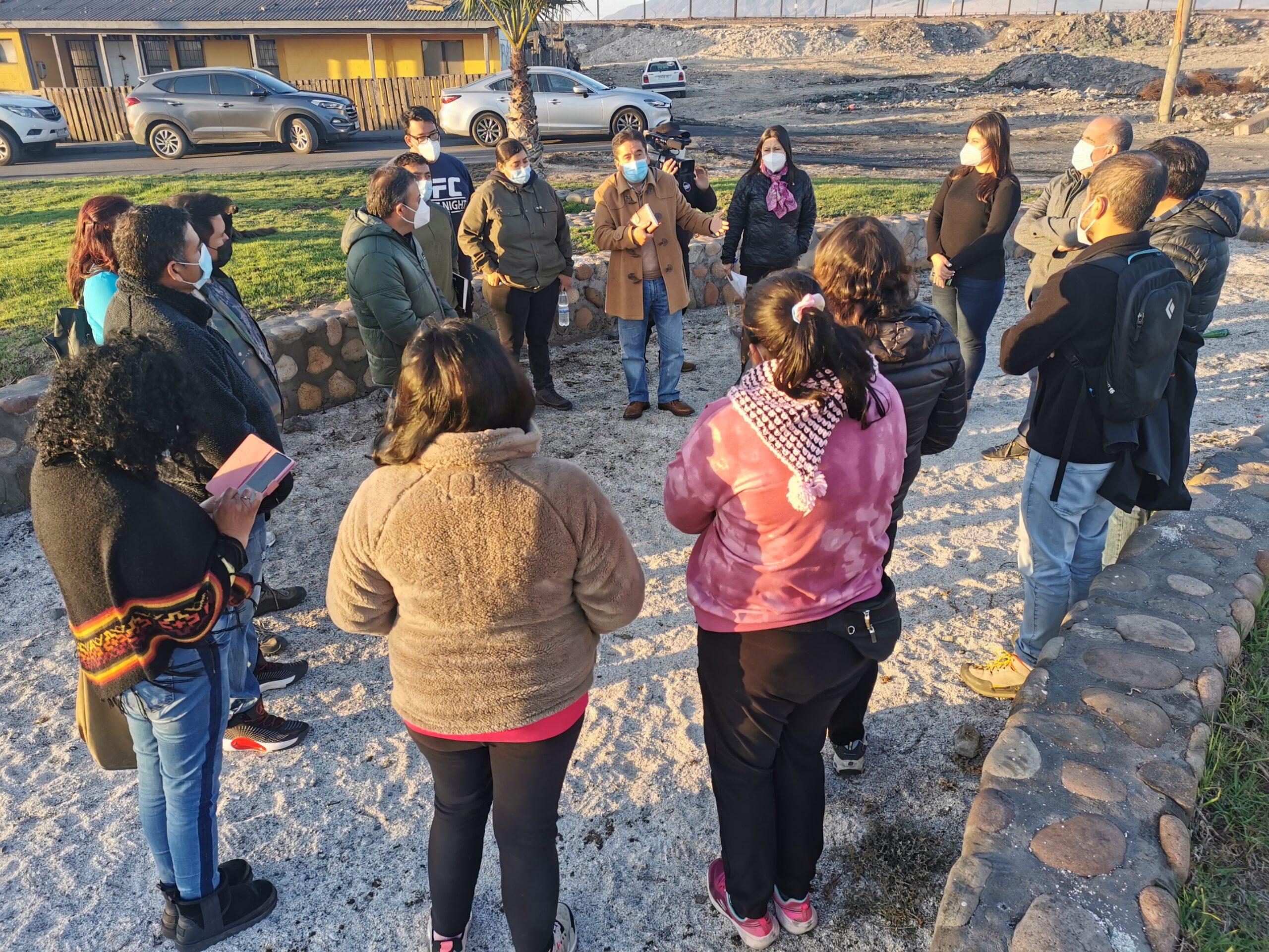 Gobernador de Atacama se reunió con Alcalde de Huasco y representantes de la comunidad para avanzar en los principales requerimientos  de la comuna