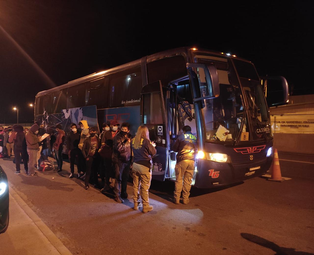 PDI detectó a 38 personas infringiendo la ley de extranjería en Vallenar