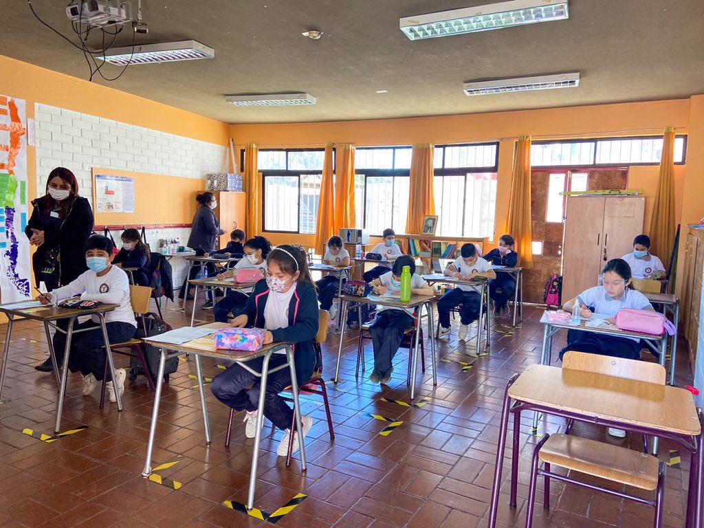 59% de establecimientos educacionales volvieron a clases presenciales este segundo semestre en Atacama