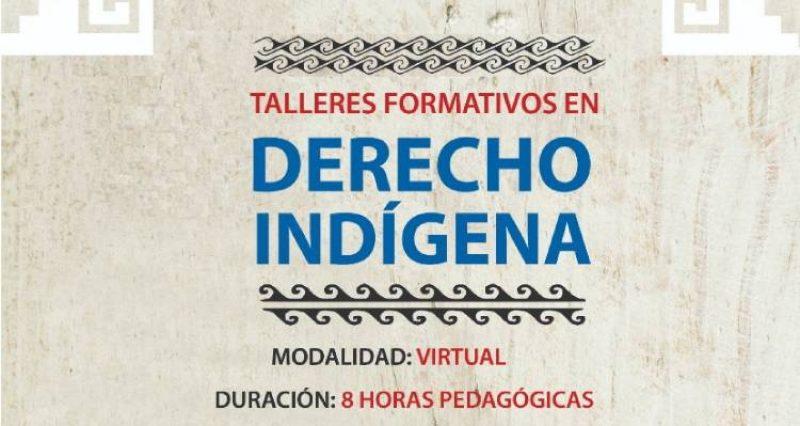 CONADI invita a participar de un nuevo ciclo de Talleres Derecho Indígena