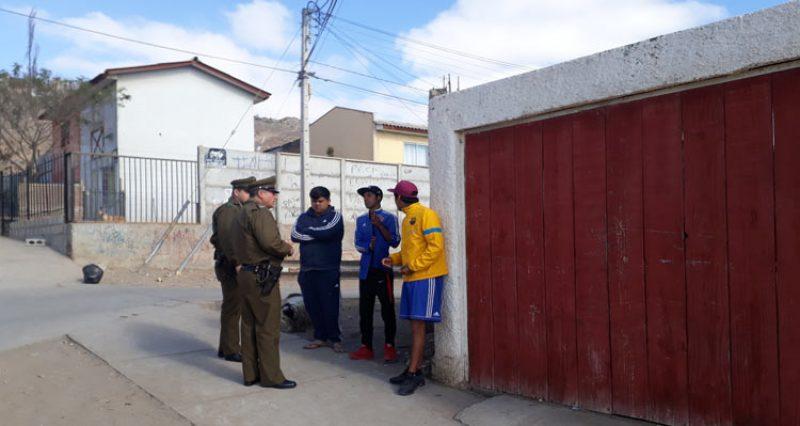 Buscan aumentar percepción de seguridad en distintos sectores de Vallenar