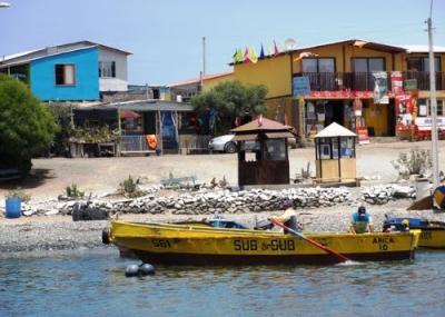 Obras Portuarias llega a caleta Los Bronces a dar información sobre proyectos