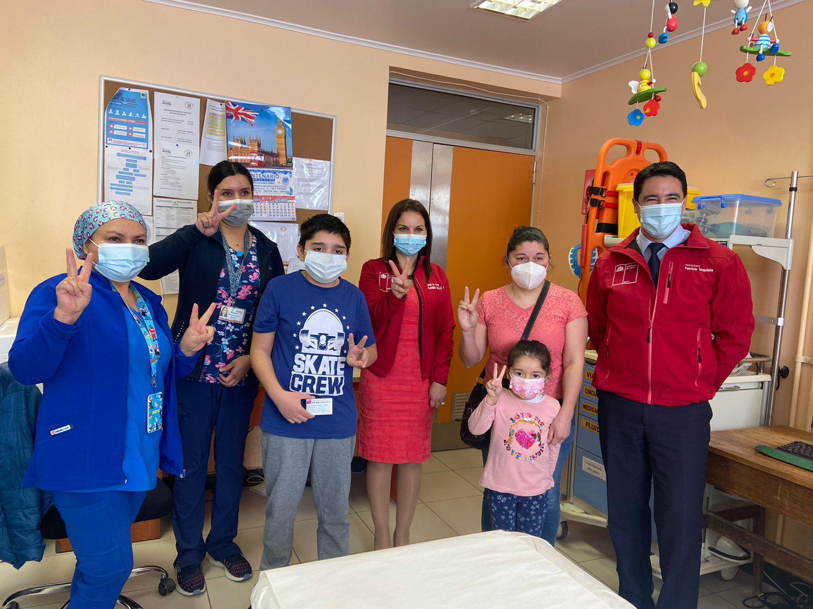 Gobierno da inicio a la vacunación contra Covid-19 en niños de 6 a 11 años