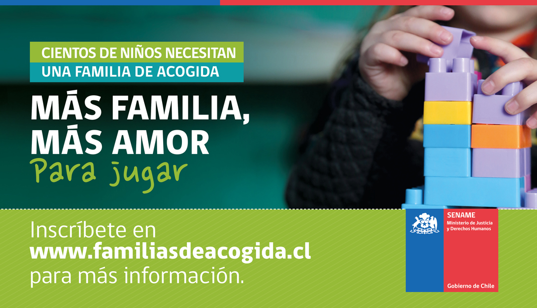 Sename Atacama busca familias de acogida