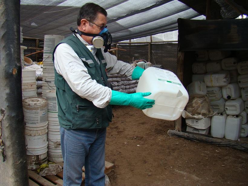 En Alto del Carmen y Vallenar: Este miércoles y jueves recolectan envases vacíos de plaguicidas