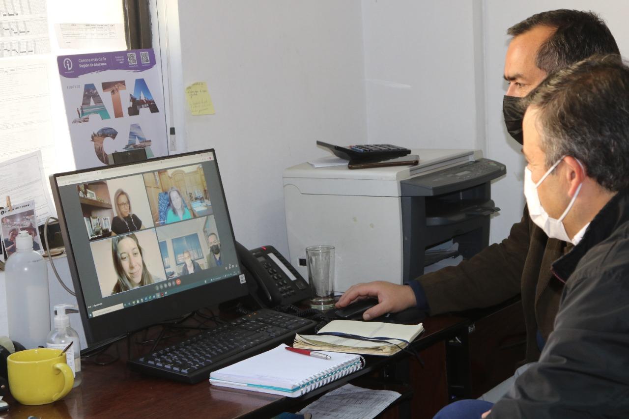 Municipio de Huasco presenta cartera de proyectos ante Subdere