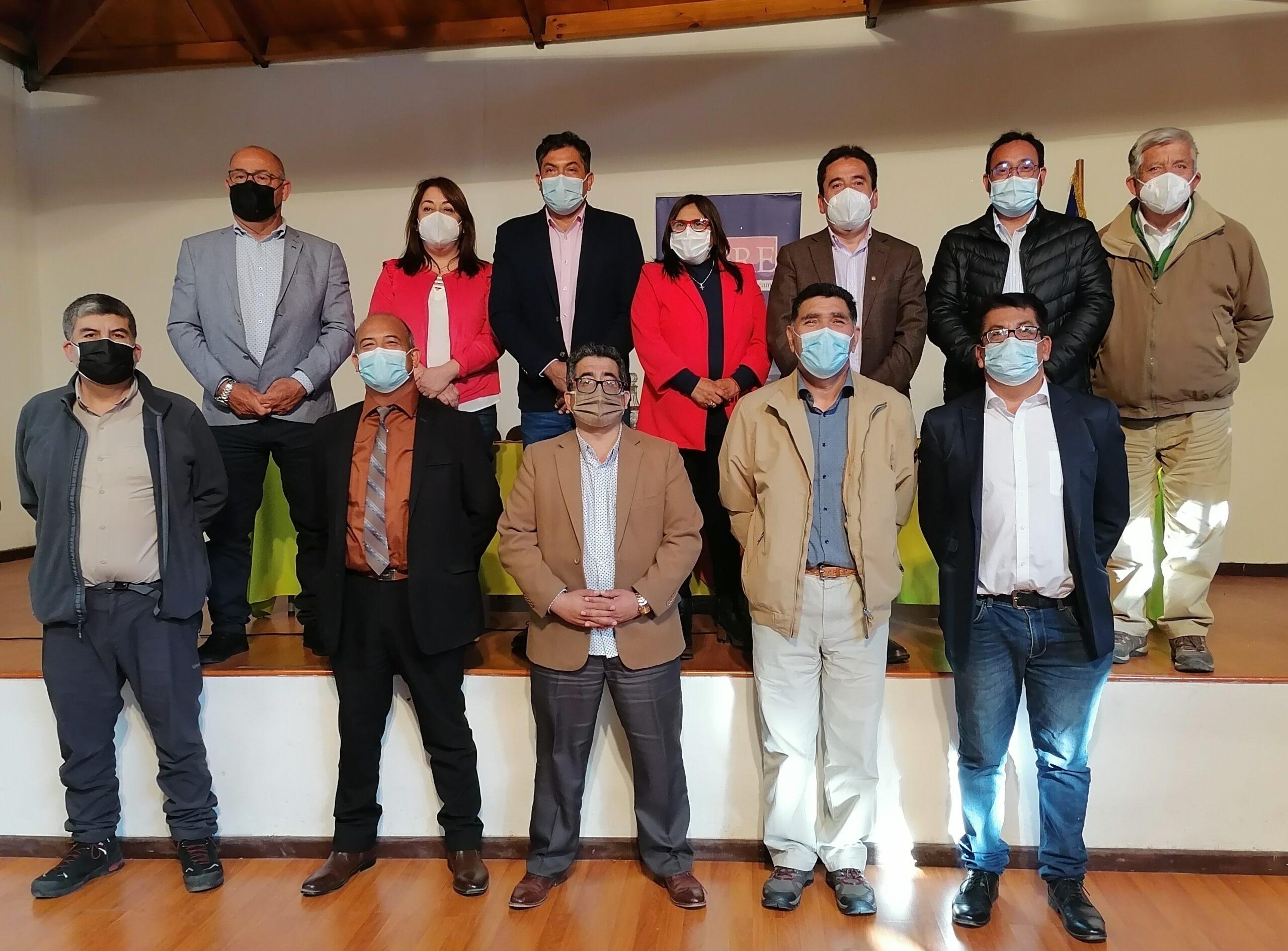 Gobernador y CORES acuerdan instaurar el Consejo Regional Constituyente de Atacama