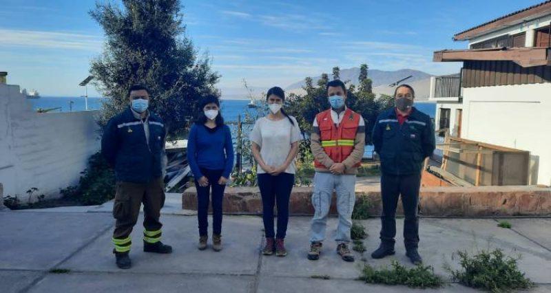 CONAF Atacama capacita a Carabineros en Sistema de Aviso de Quemas (SAQ)