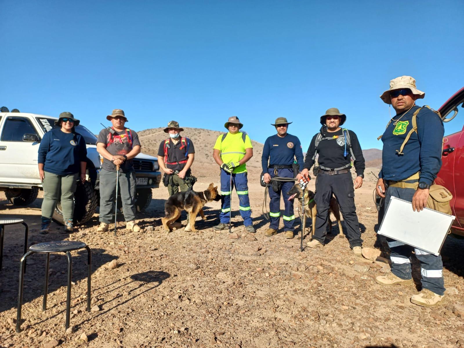 USAR k9 Atacama: el grupo de rescate que se proyecta en la provincia