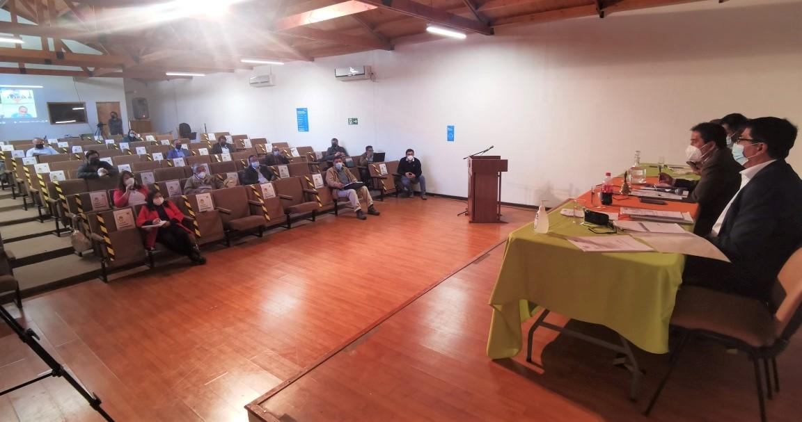 CORES de Atacama comprometieron gestión para resolver saneamiento en Alto del Carmen