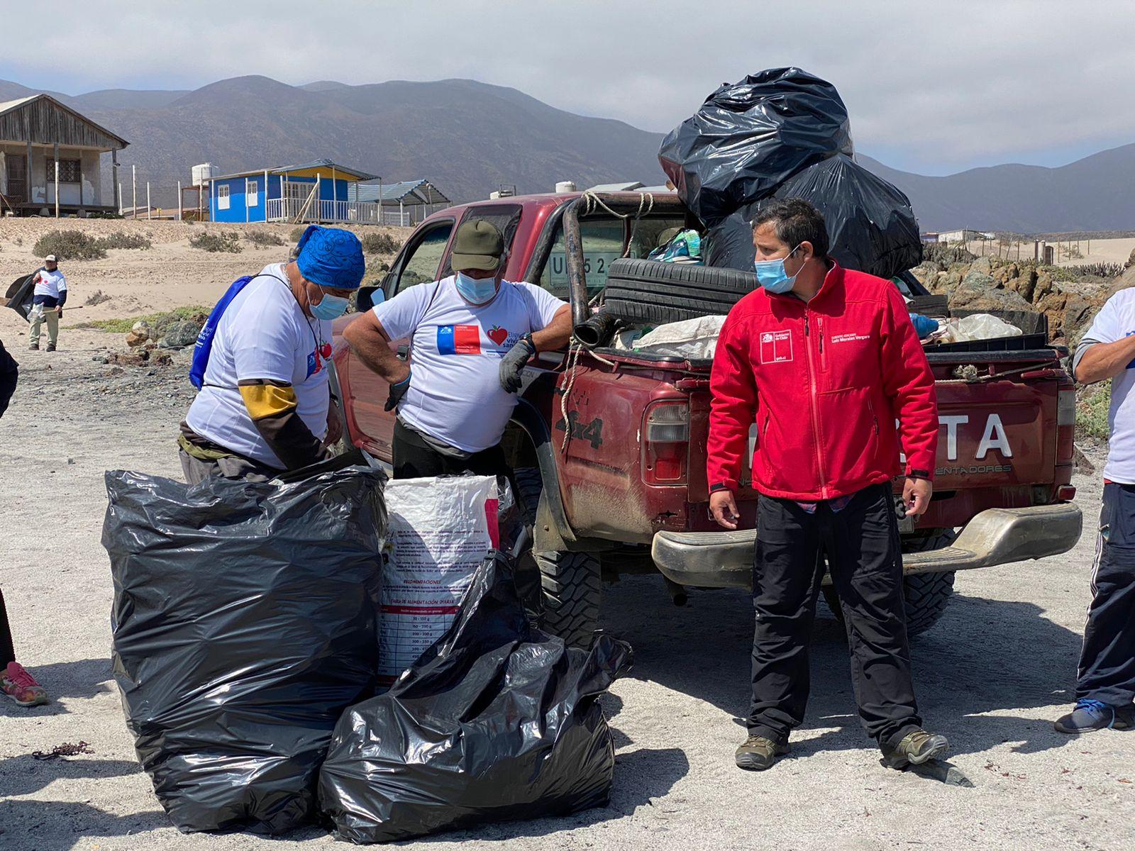 Más de 250 kilos de basura se lograron recolectar en limpieza de Playa Los Toyos