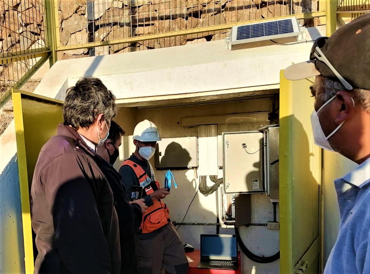 Junta de Vigilancia del Río Huasco moderniza el sistema de monitoreo del Embalse Santa Juana