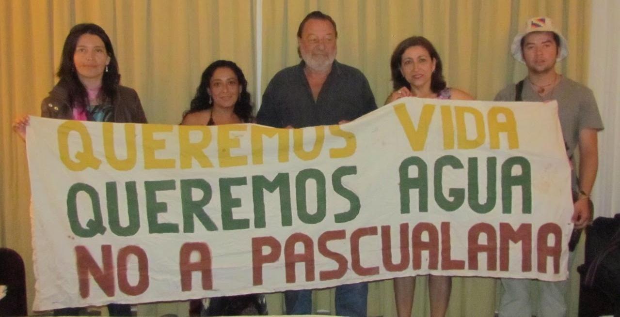 ASAMBLEA POR EL AGUA DEL GUASCO ALTO DESPIDE A PATRICIO MANNS