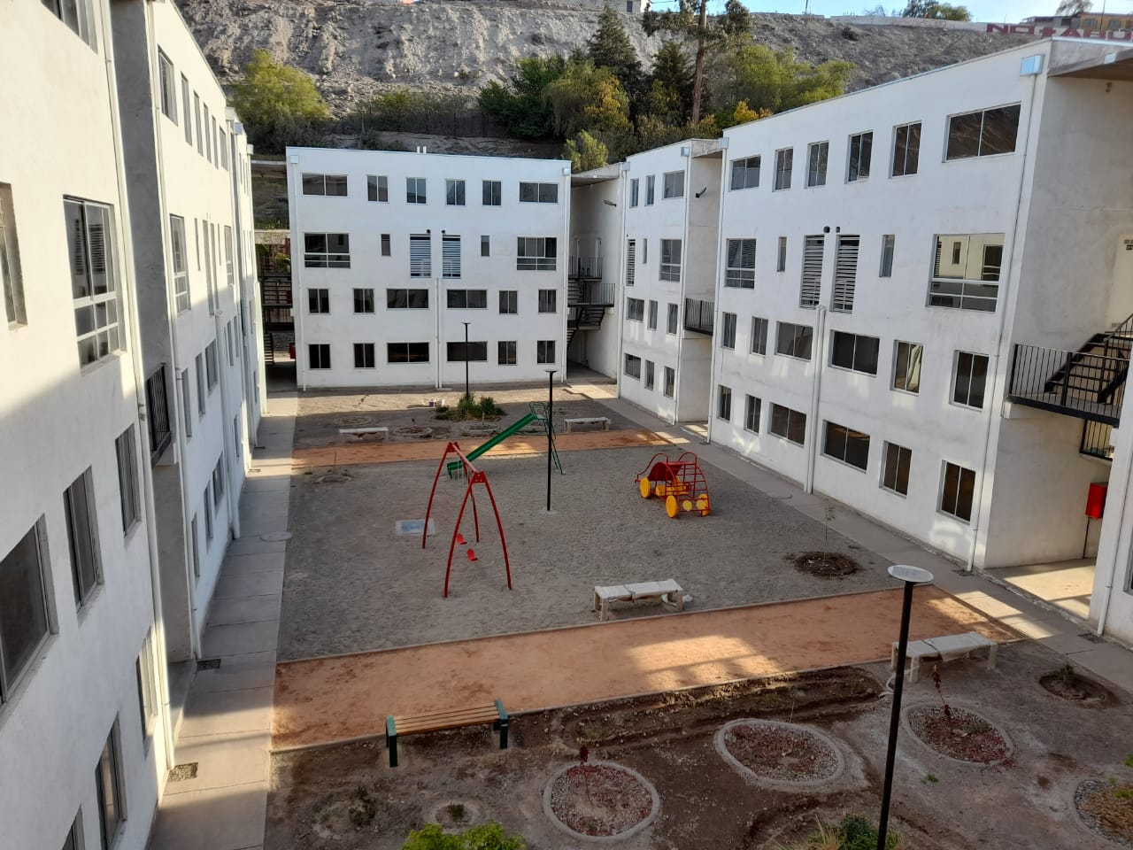 Proyecto de vivienda en Vallenar: Comité de La Turbina espera la recontratación de nueva empresa para retomar las obras que actualmente se encuentran paralizadas