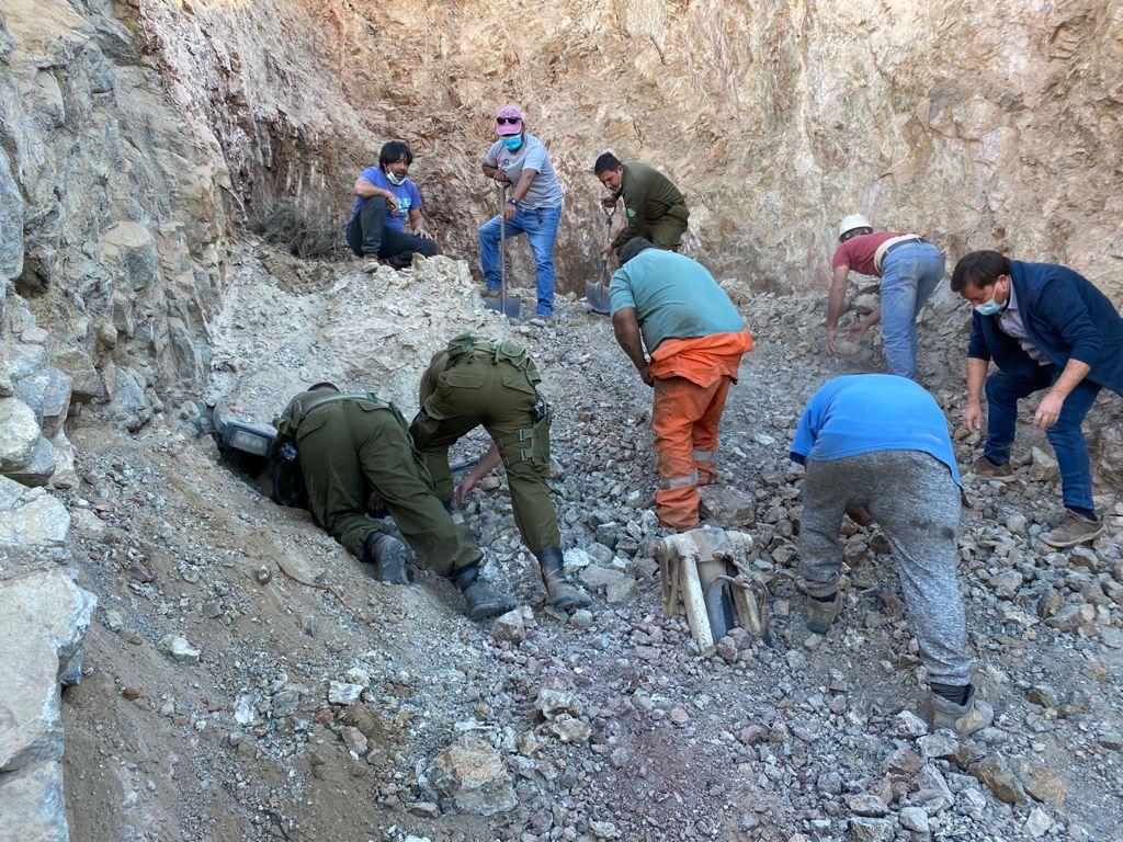 Dos fallecidos tras derrumbe de faena minera en Freirina