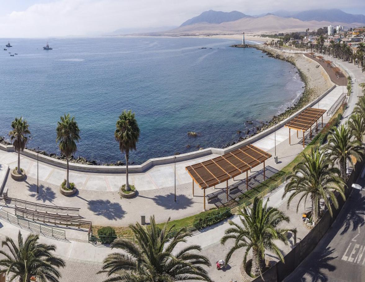 Autoridades Inauguraron el nuevo Borde Costero de Huasco