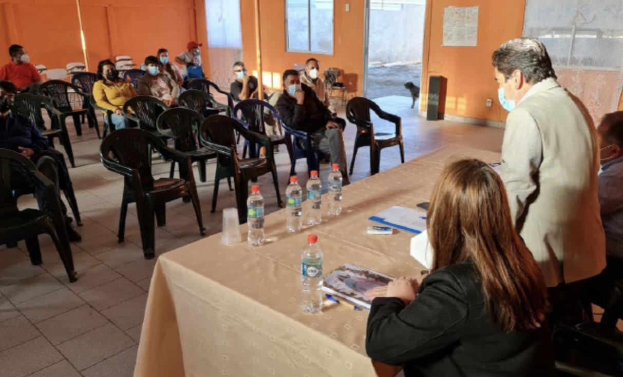 Gobernador de Atacama y vecinos de Domeyko inician Plan de Desarrollo para resolver problemáticas más urgentes de la localidad