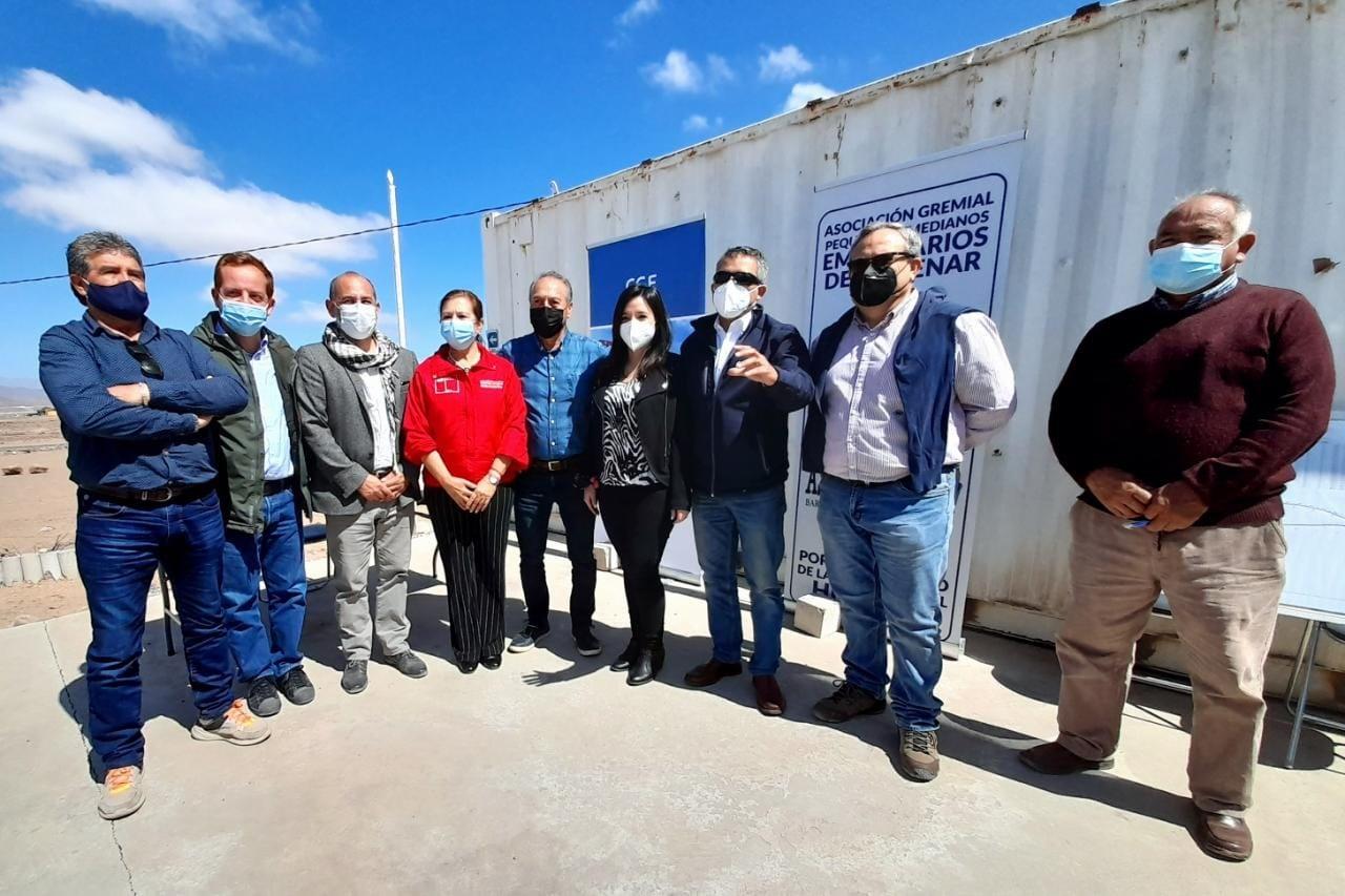 Aspymevall concreta potente inversión en electrificación de Barrio Industrial en Vallenar